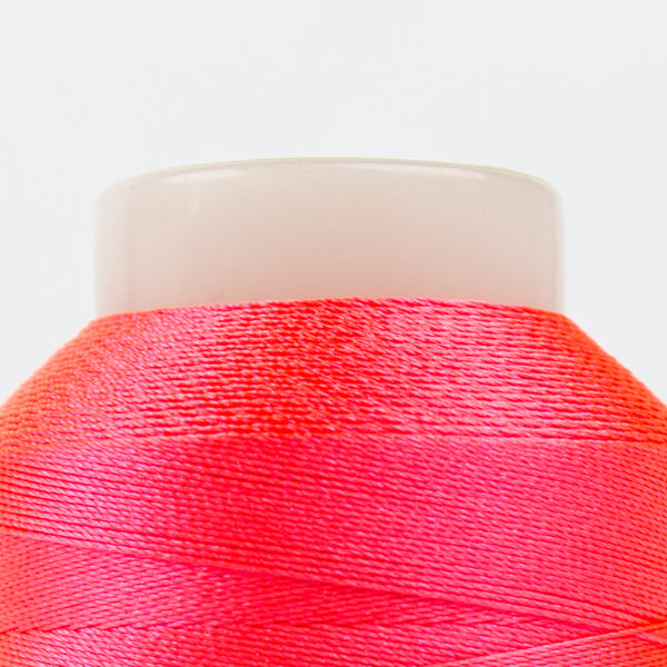 FB05 - Fabulux 40wt Trilobal Polyester Neon Peach Thread - wonderfil-online-uk