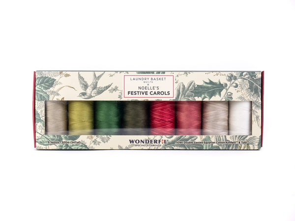 Noelle's Festive Carols by Edyta Sitar - Egyptian cotton Thread Pack