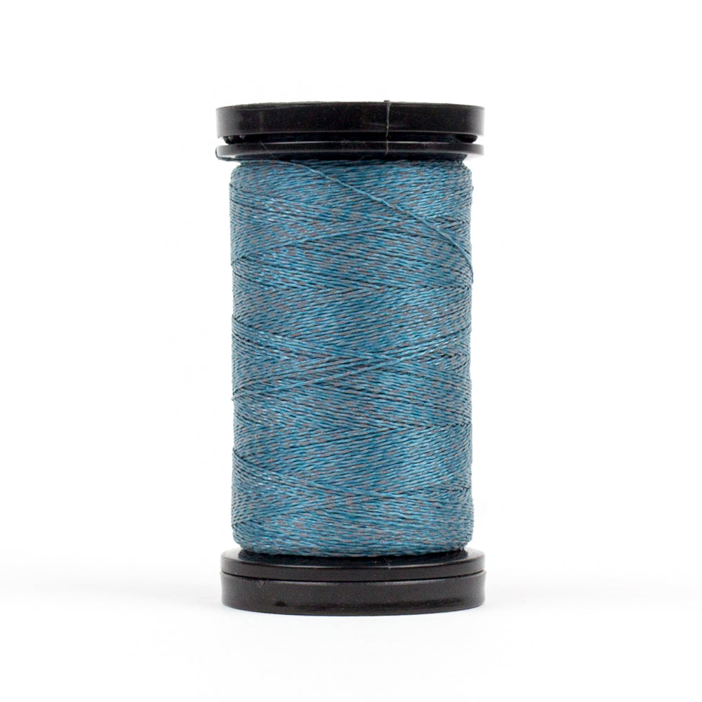 FS06 - Flash 40wt Polyester Reflective Lake Blue Thread - wonderfil-online-uk