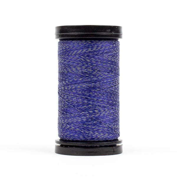 FS07 - Flash 40wt Polyester Reflective Deep Marine Thread - wonderfil-online-uk