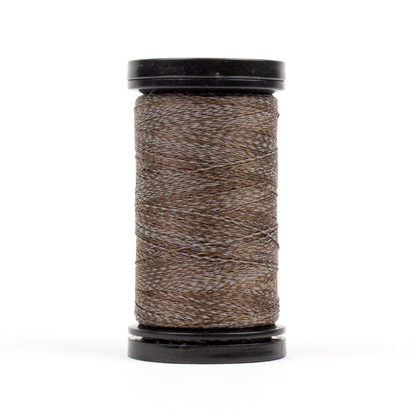 FS08 - Flash 40wt Polyester Reflective French Roast Thread - wonderfil-online-uk