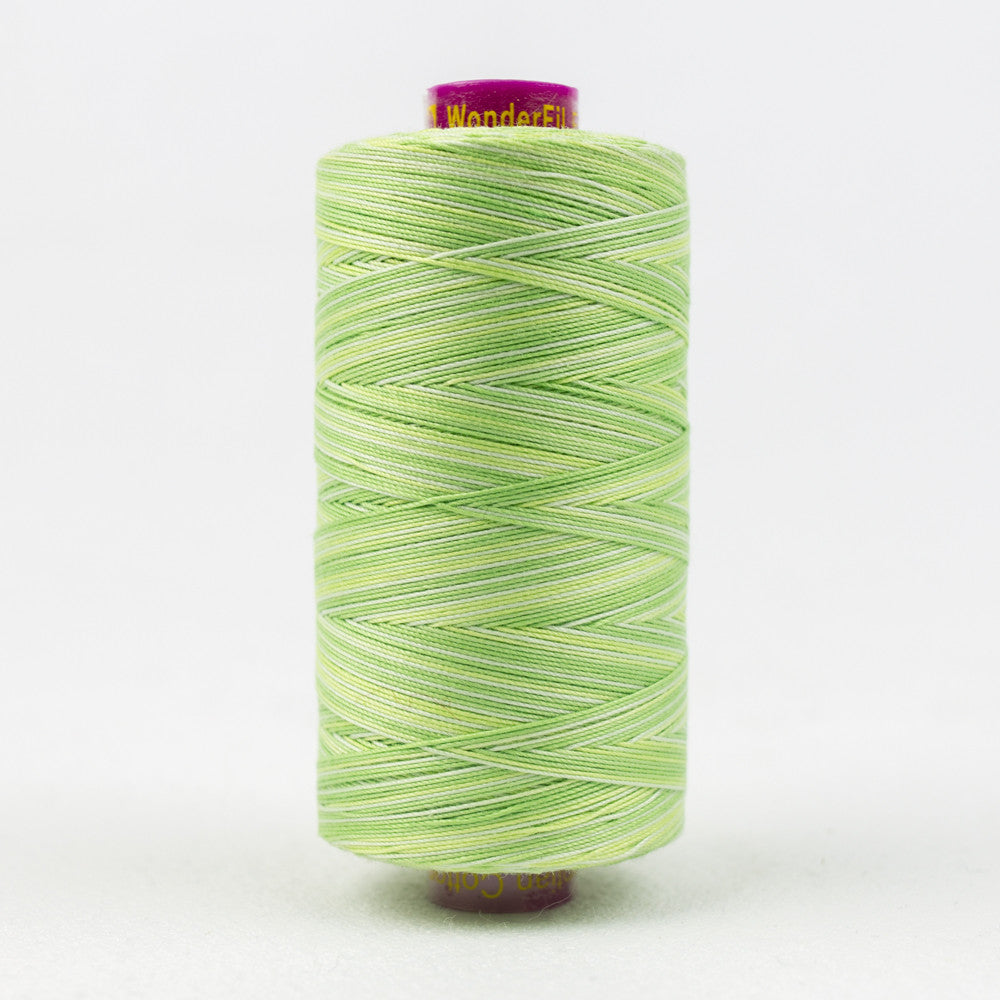 FT28 - Fruitti 12wt Egyptian Cotton Lime Thread - wonderfil-online-uk