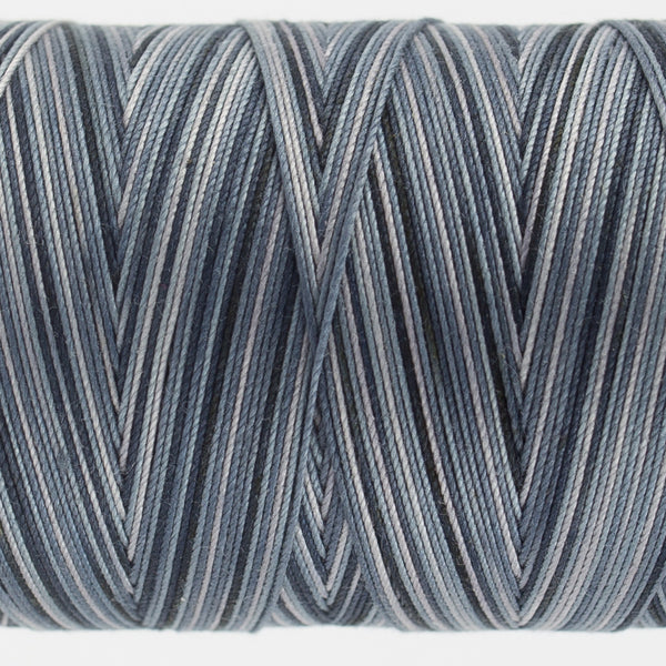 FT40 - Fruitti 12wt Egyptian Cotton Slate Thread - wonderfil-online-uk