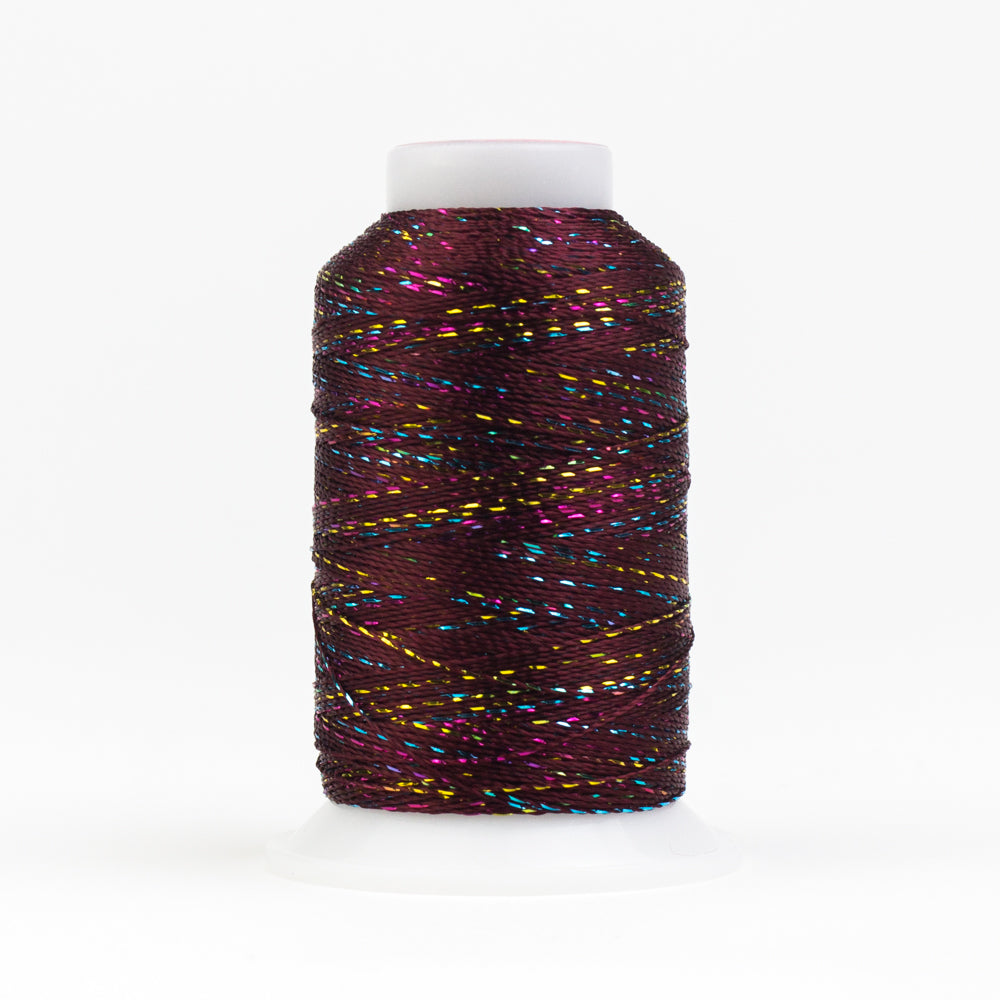GM909 -  GlaMore 12wt Rayon and Metallic Molasses Thread - wonderfil-online-uk