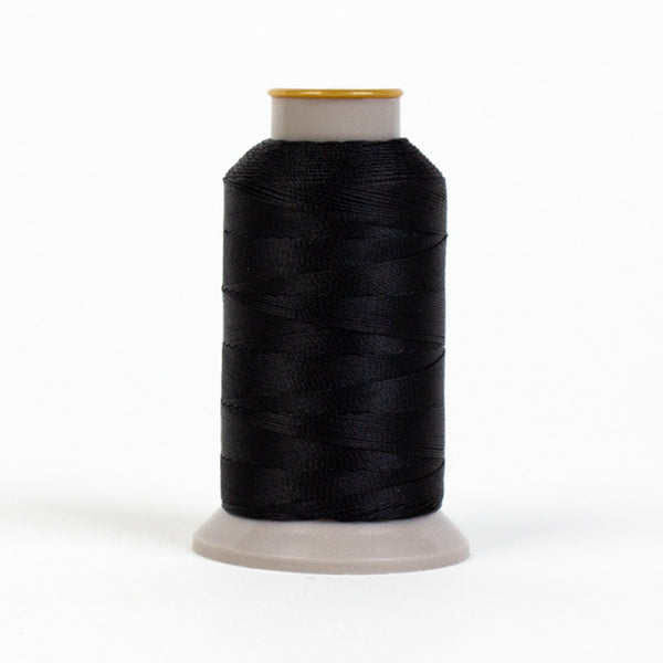 HD101 - HomeDec™ Multi-Filament Polyester Ink Black Thread
