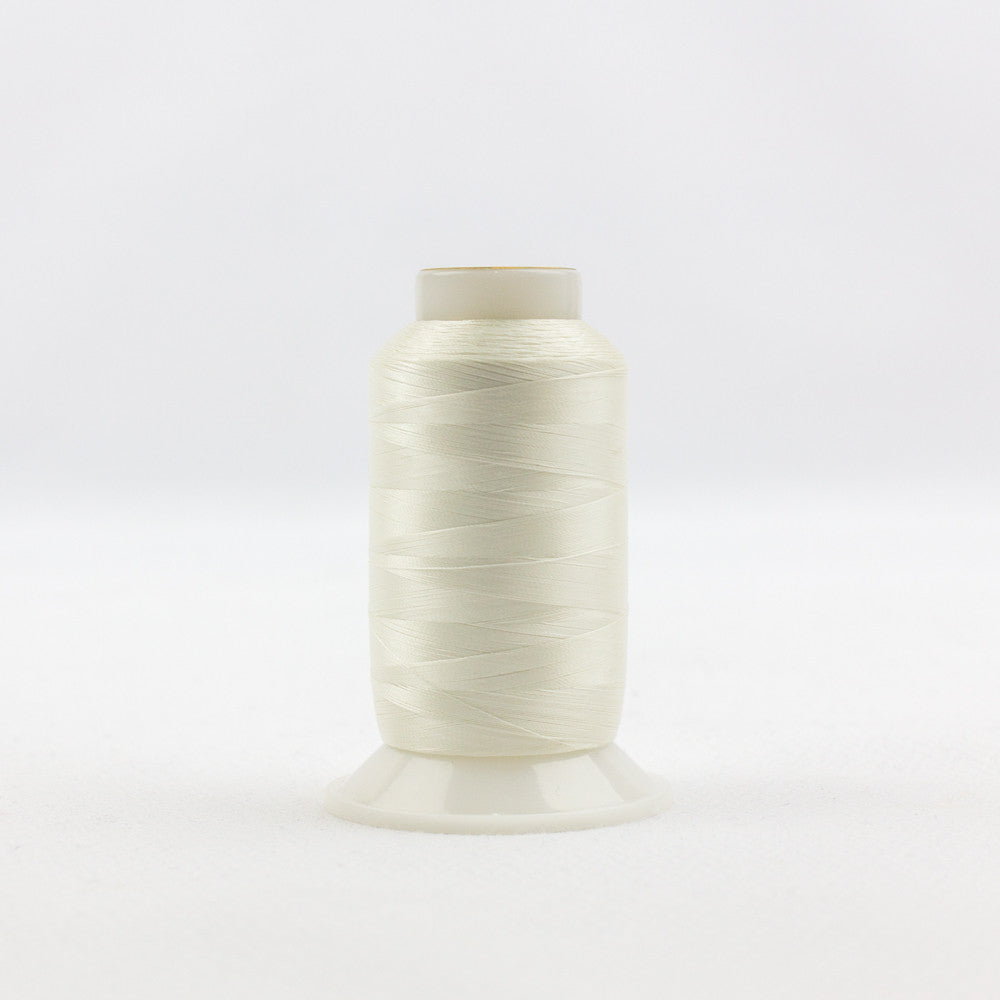 IF112 - InvisaFil 100wt Cotton Polyester Antique White Thread - wonderfil-online-uk