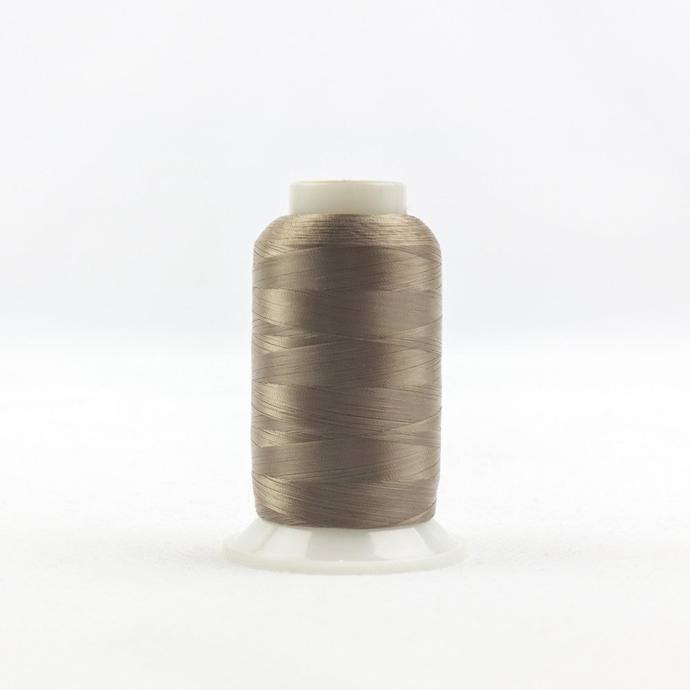 IF114 - InvisaFil 100wt Cotton Polyester Brown Grey Thread - wonderfil-online-uk