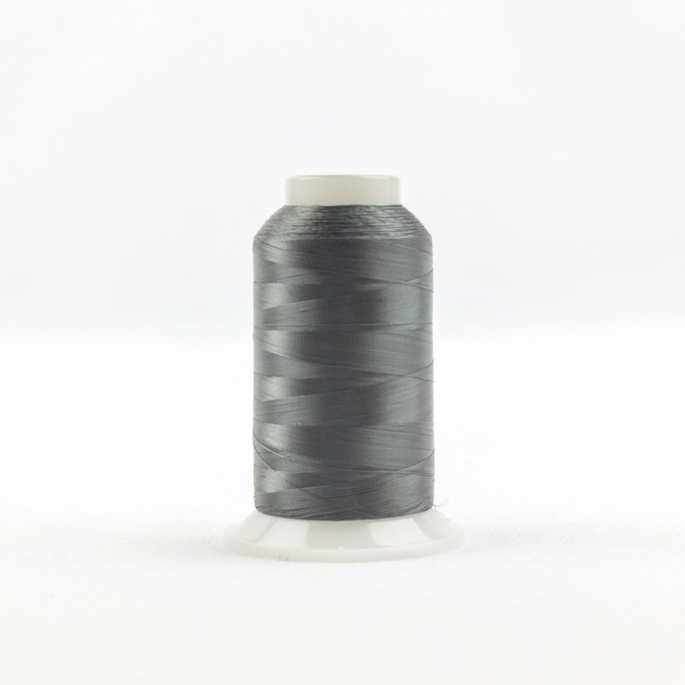 IF122 - InvisaFil 100wt Cotton Polyester Dark Grey Thread - wonderfil-online-uk