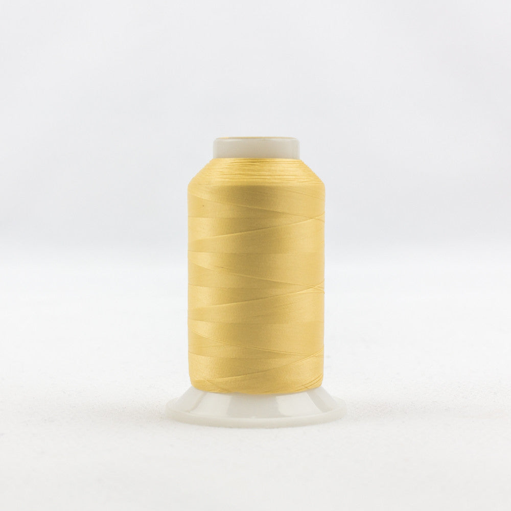 IF138 - InvisaFil 100wt Cotton Polyester Soft Gold Thread - wonderfil-online-uk