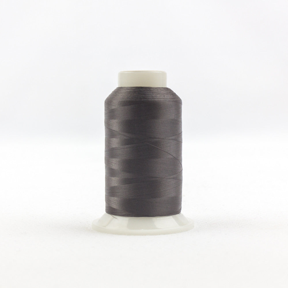 IF168 - InvisaFil 100wt Cotton Polyester Charcoal Thread - wonderfil-online-uk