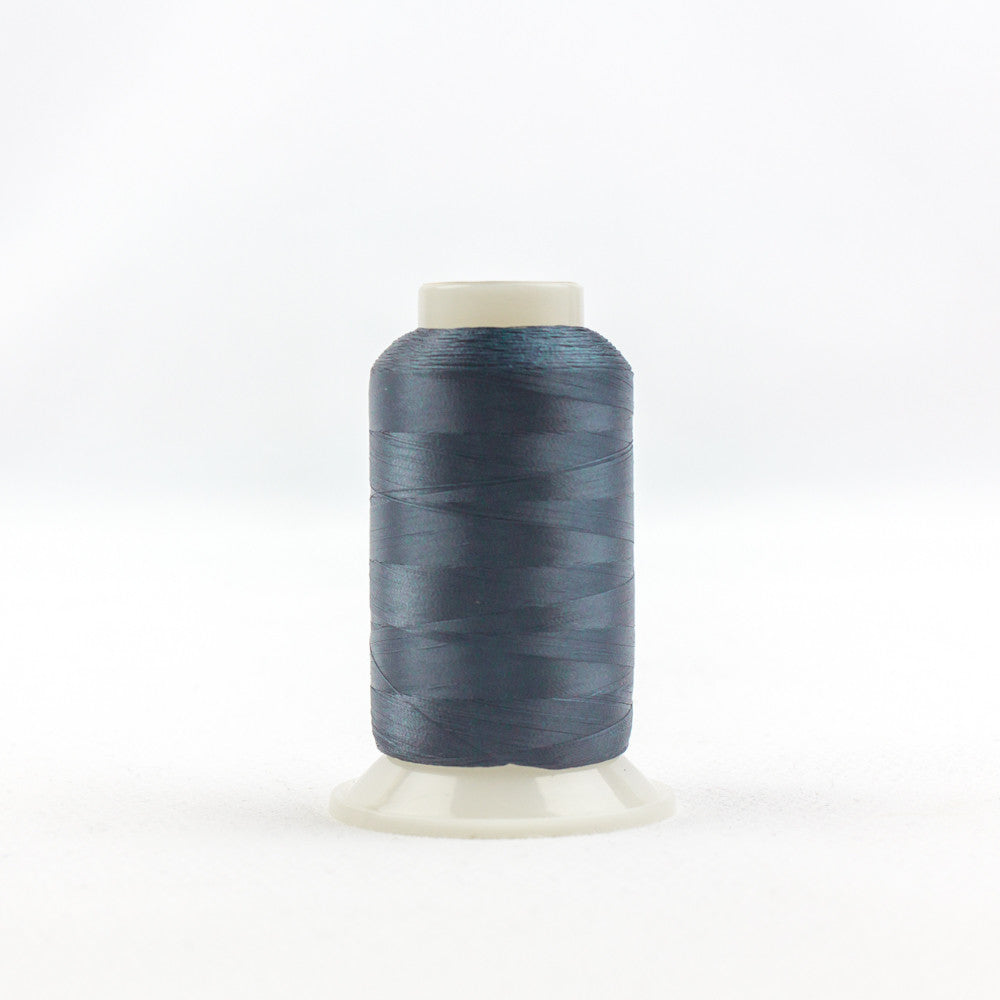 IF179 - InvisaFil 100wt Cotton Polyester Blue Grey Thread - wonderfil-online-uk