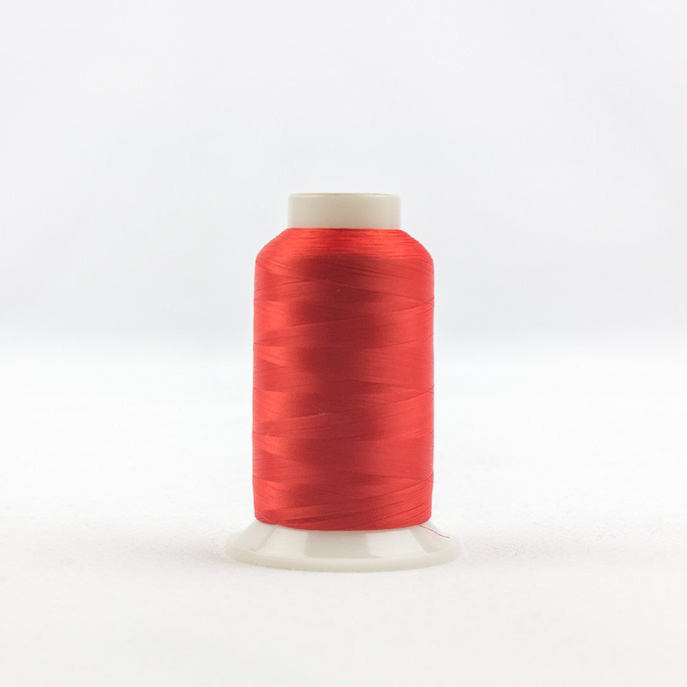 IF202 - InvisaFil 100wt Cotton Polyester Red Thread - wonderfil-online-uk