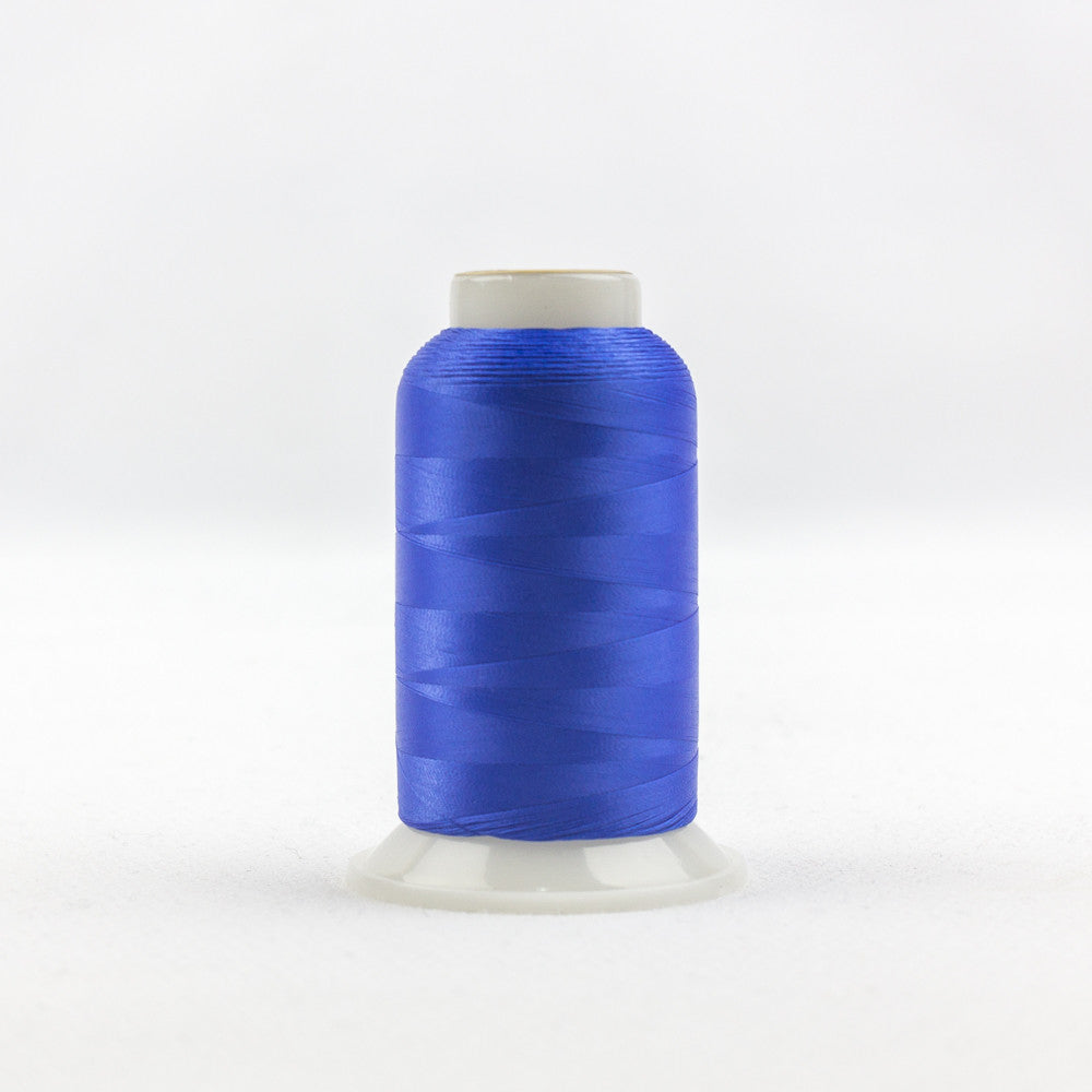 IF311 - InvisaFil 100wt Cotton Polyester Soft Royal Blue Thread - wonderfil-online-uk