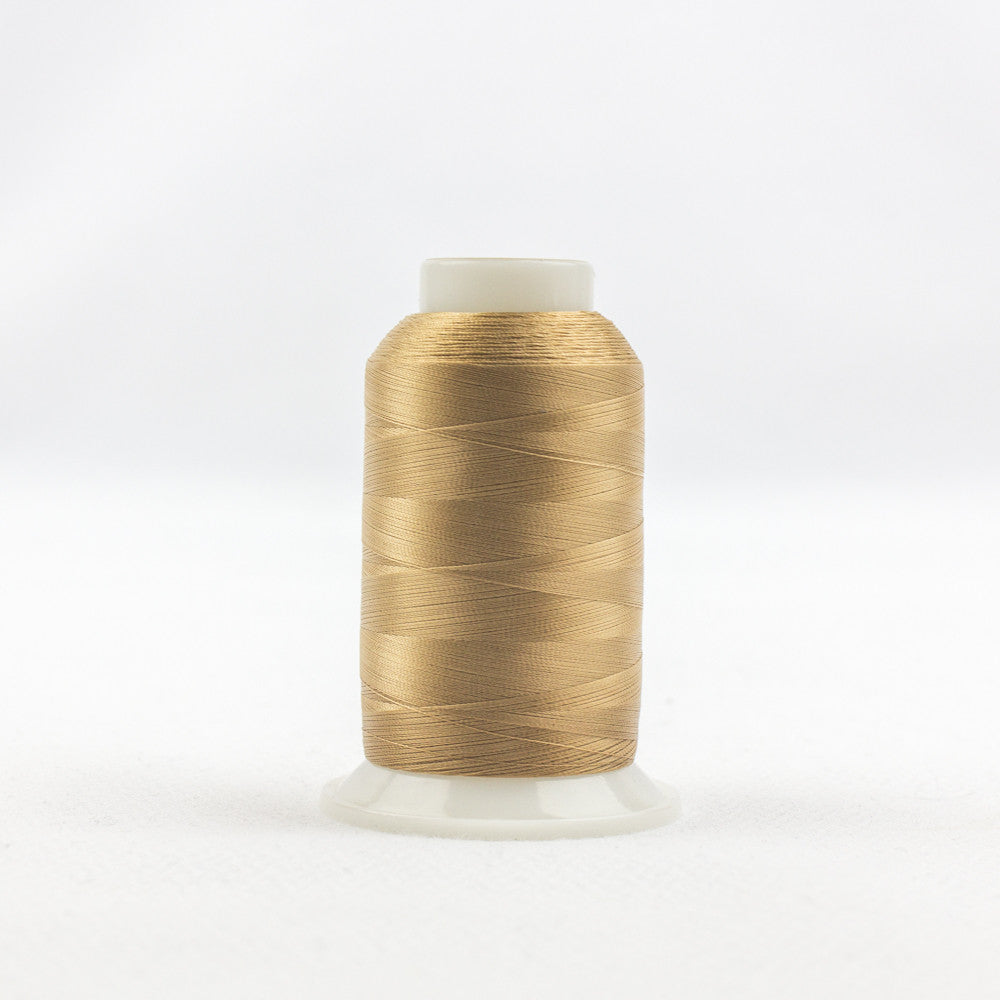 IF414 - InvisaFil 100wt Cotton Polyester Soft Tan Thread - wonderfil-online-uk