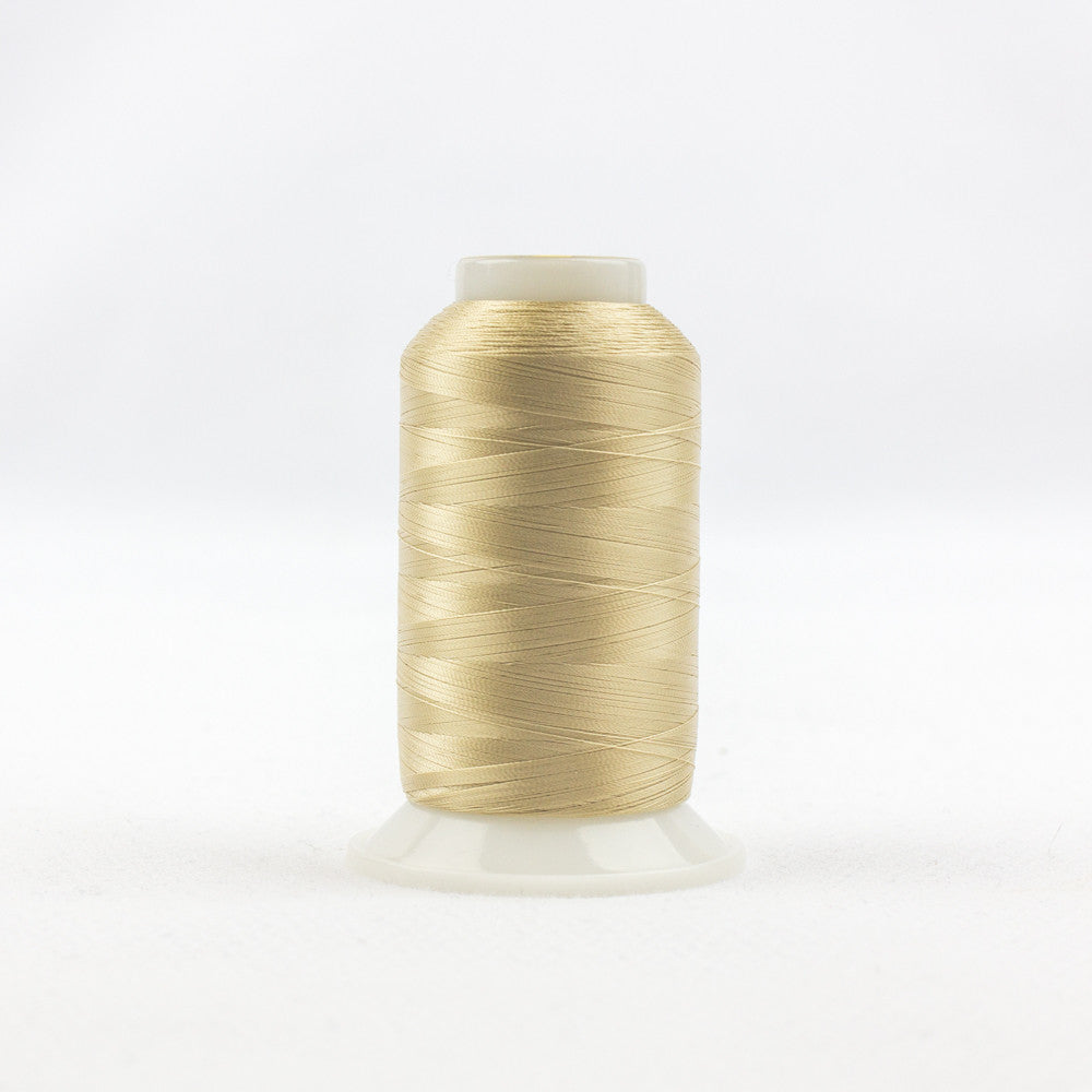 IF464 - InvisaFil 100wt Cotton Polyester Tan Thread - wonderfil-online-uk