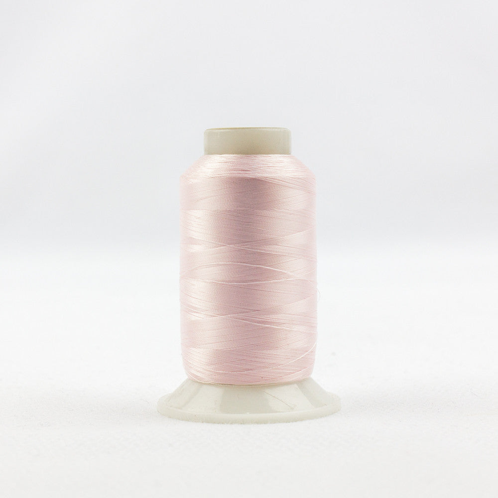 IF604 - InvisaFil 100wt Cotton Polyester Pastel Pink Thread - wonderfil-online-uk