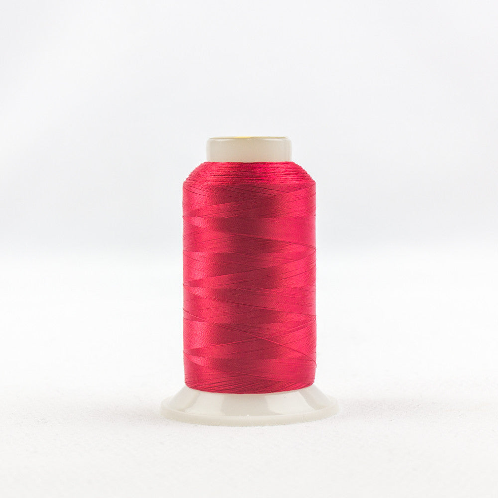 IF605 - InvisaFil 100wt Cotton Polyester Christmas Red Thread - wonderfil-online-uk