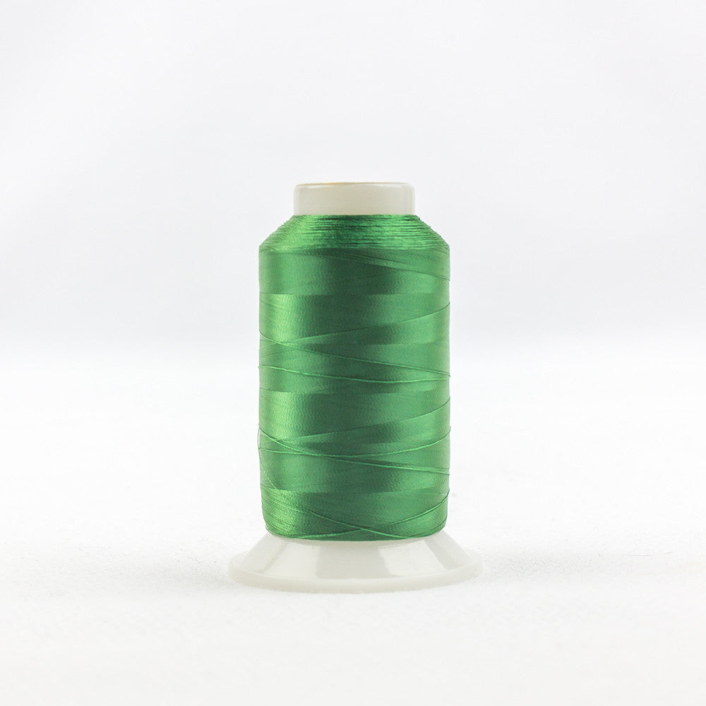 IF606 - InvisaFil 100wt Cotton Polyester Christmas Green Thread - wonderfil-online-uk