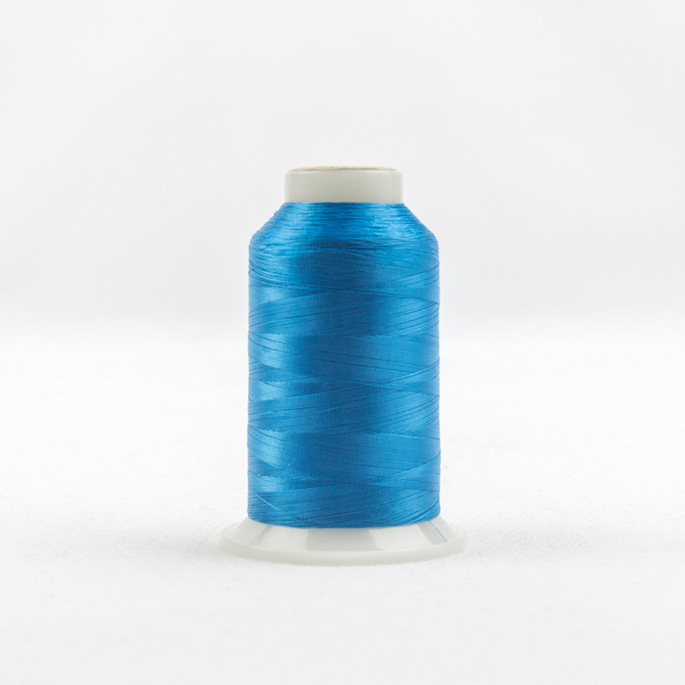 IF607 - InvisaFil 100wt Cotton Polyester Teal Thread - wonderfil-online-uk