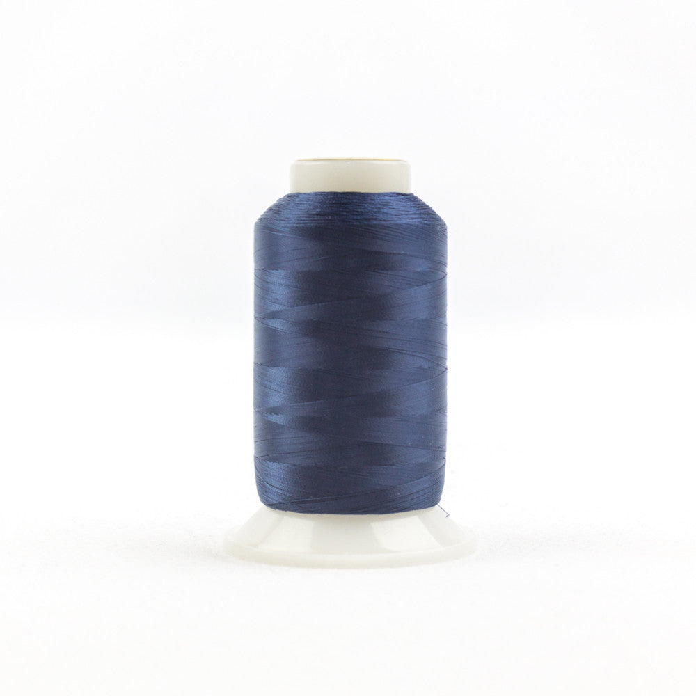 IF608 - InvisaFil 100wt Cotton Polyester Navy Thread - wonderfil-online-uk