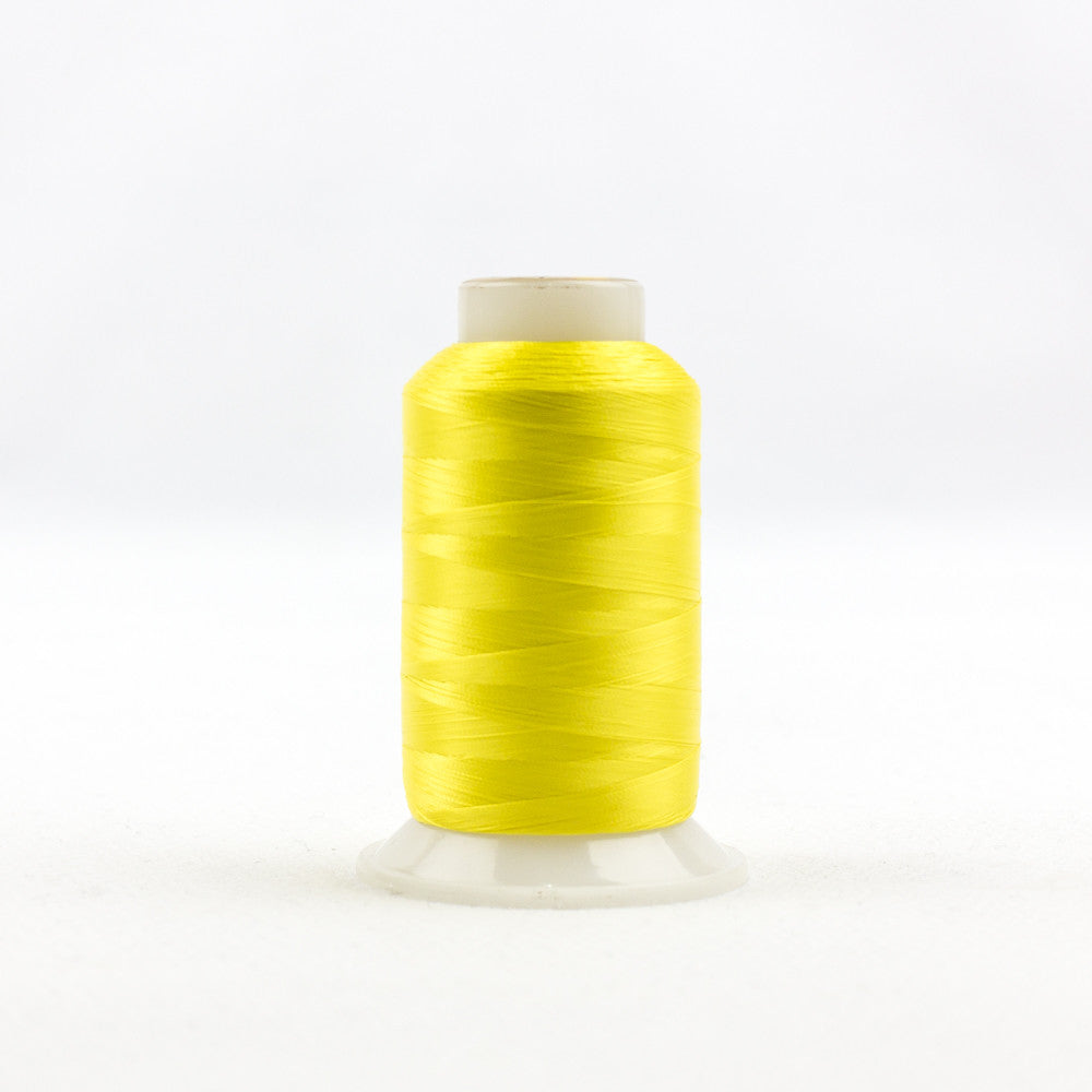 IF701 - InvisaFil 100wt Cotton Polyester Daffodil Yellow Thread - wonderfil-online-uk