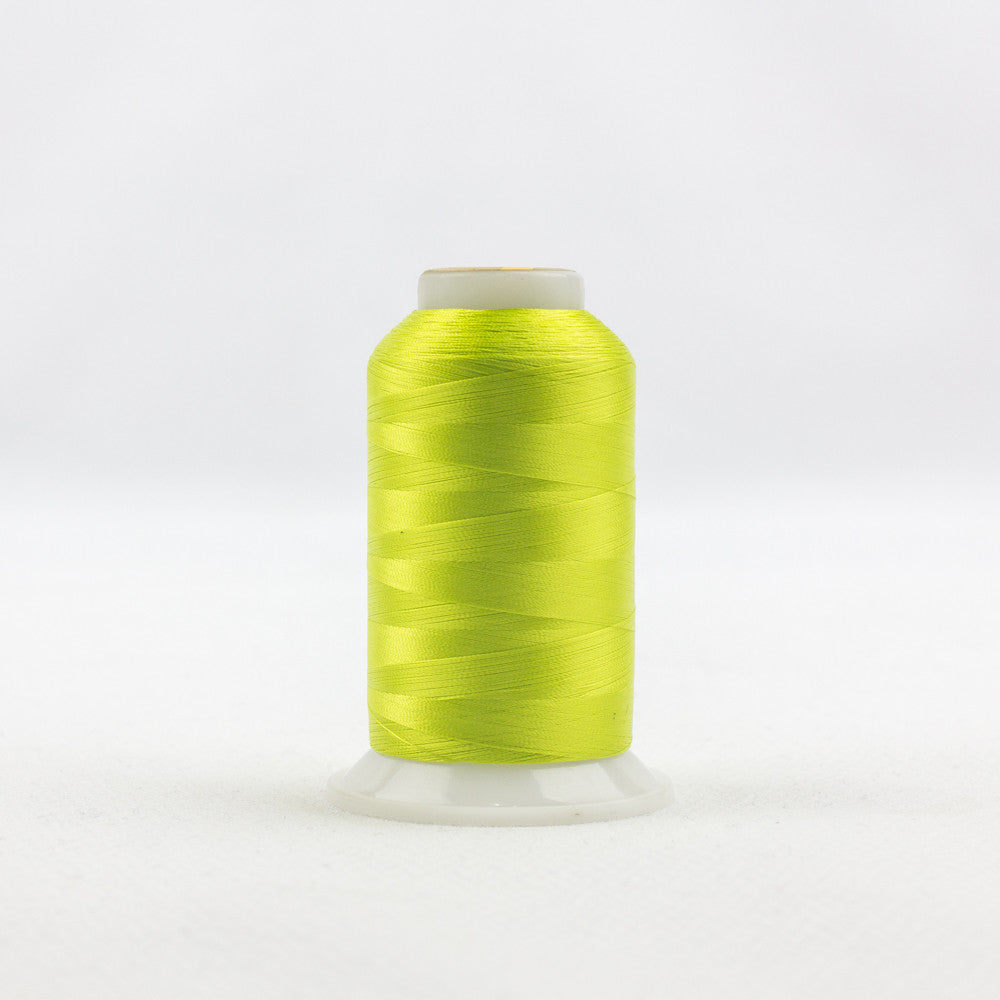 IF702 - InvisaFil 100wt Cotton Polyester Chartreuse Thread - wonderfil-online-uk