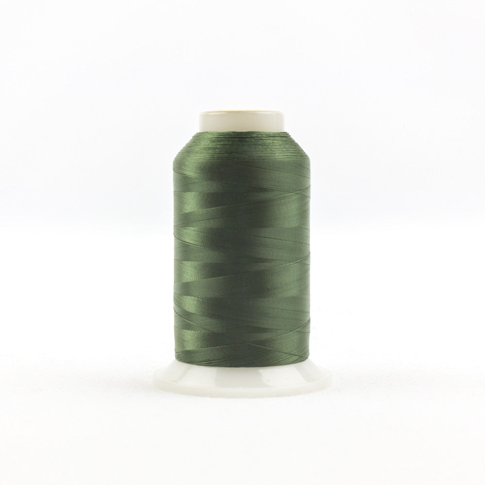 IF707 - InvisaFil 100wt Cotton Polyester Hunter Green Thread - wonderfil-online-uk