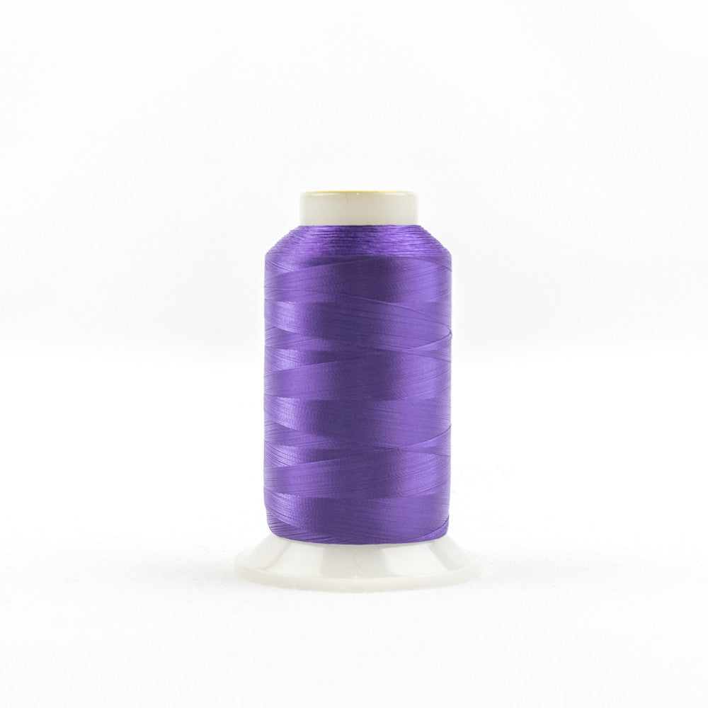IF708 - InvisaFil 100wt Cotton Polyester Deep Pansy Purple Thread - wonderfil-online-uk