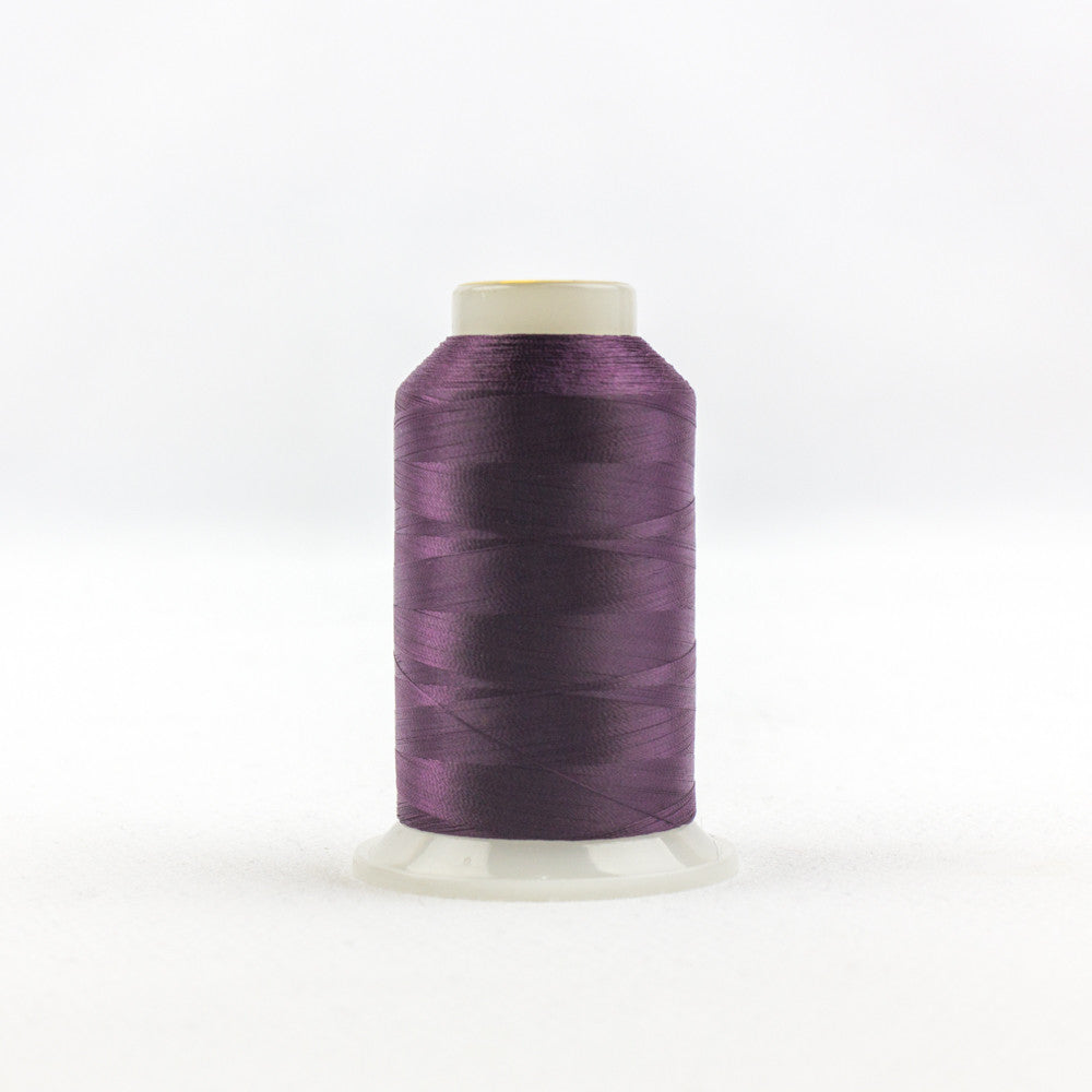 IF710 - InvisaFil 100wt Cotton Polyester Deepest Burgundy Thread - wonderfil-online-uk