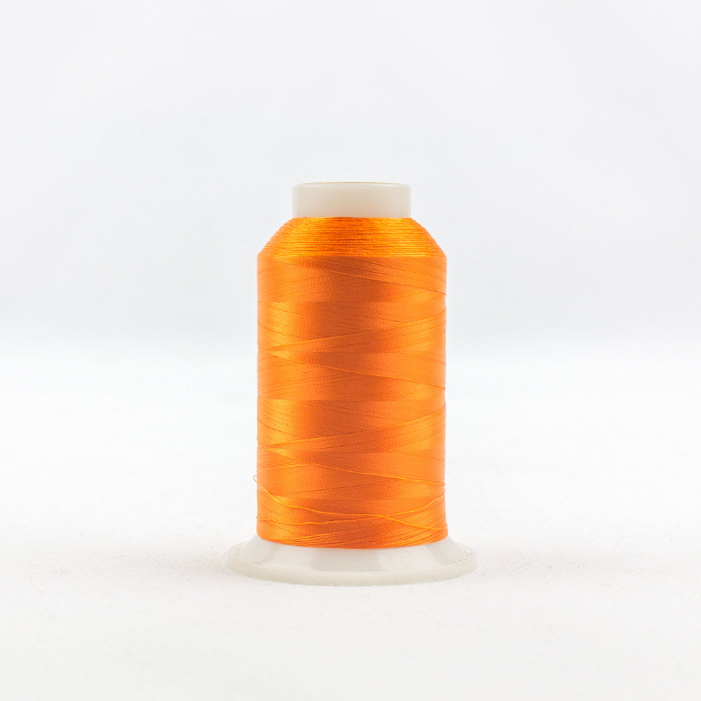 IF711 - InvisaFil 100wt Cotton Polyester Pure Orange Thread - wonderfil-online-uk