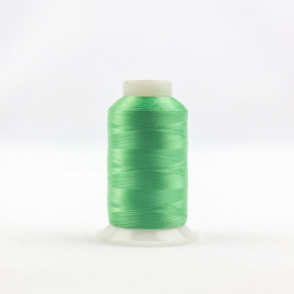 IF712 - InvisaFil 100wt Cotton Polyester Simply Green Thread - wonderfil-online-uk