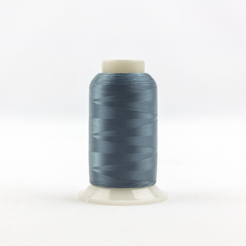 IF724 - InvisaFil 100wt Cotton Polyester Dusty Teal Thread - wonderfil-online-uk
