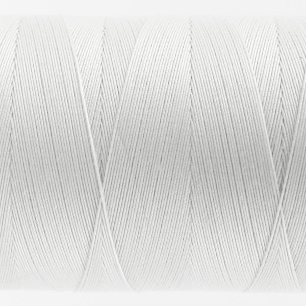 KT100 -  Konfetti 50wt Egyptian Cotton White Thread - wonderfil-online-uk