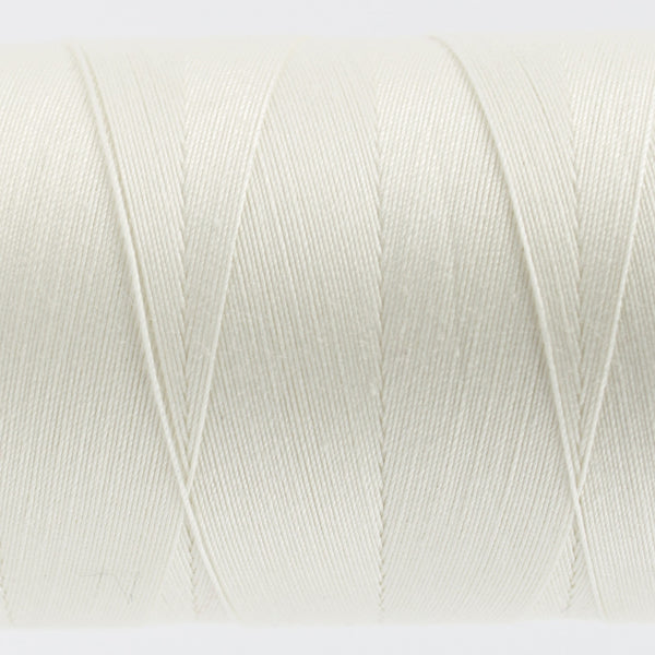 KT101 - Konfetti 50wt Egyptian Cotton Soft White Thread - wonderfil-online-uk