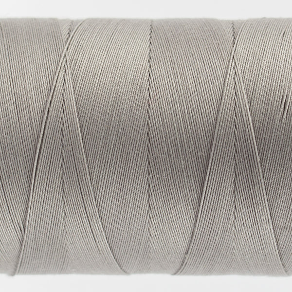 KT905 - Konfetti 50wt Egyptian Cotton Sterling Grey Thread - wonderfil-online-uk