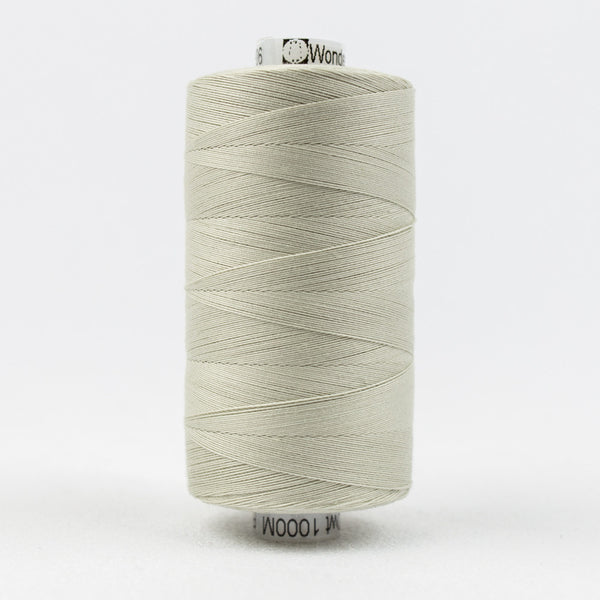 KT906 - Konfetti 50wt Egyptian Cotton Pale Grey Thread - wonderfil-online-uk