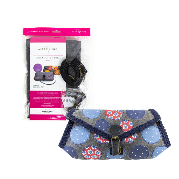 Luella Clutch Purse Kit - Large