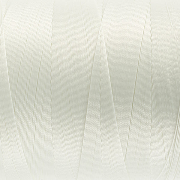 MQ02 - 40wt All Purpose Soft White Thread - wonderfil-online-uk