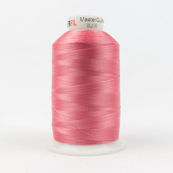 MQ08 - 40wt All Purpose Pink Thread - wonderfil-online-uk