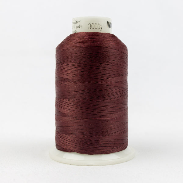 MQ11 - 40wt All Purpose Burgundy Thread - wonderfil-online-uk