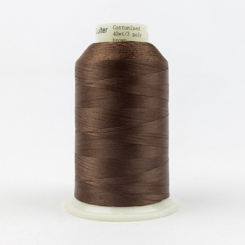 MQ14 - 40wt All Purpose Brown Thread - wonderfil-online-uk