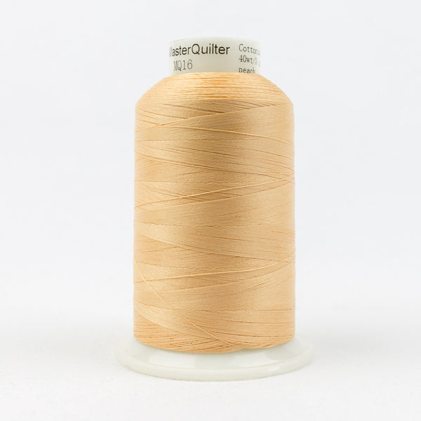 MQ16 - 40wt All Purpose Peach Thread - wonderfil-online-uk