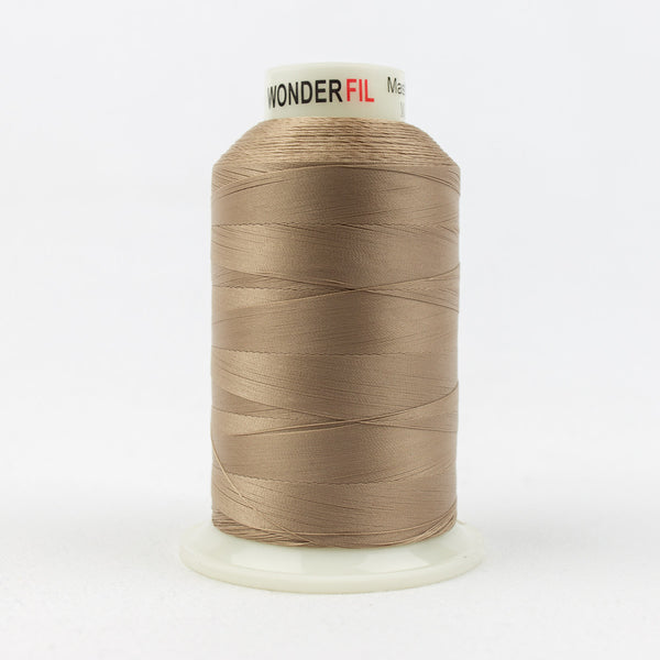 MQ18 - 40wt All Purpose Warm Brown Thread - wonderfil-online-uk
