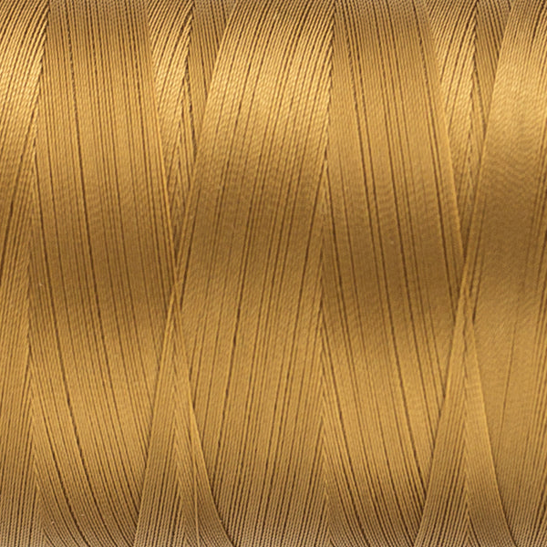 MQ20 - 40wt All Purpose Gold Brown Thread - wonderfil-online-uk