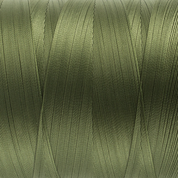 MQ24 - 40wt All Purpose Dark Olive Thread - wonderfil-online-uk
