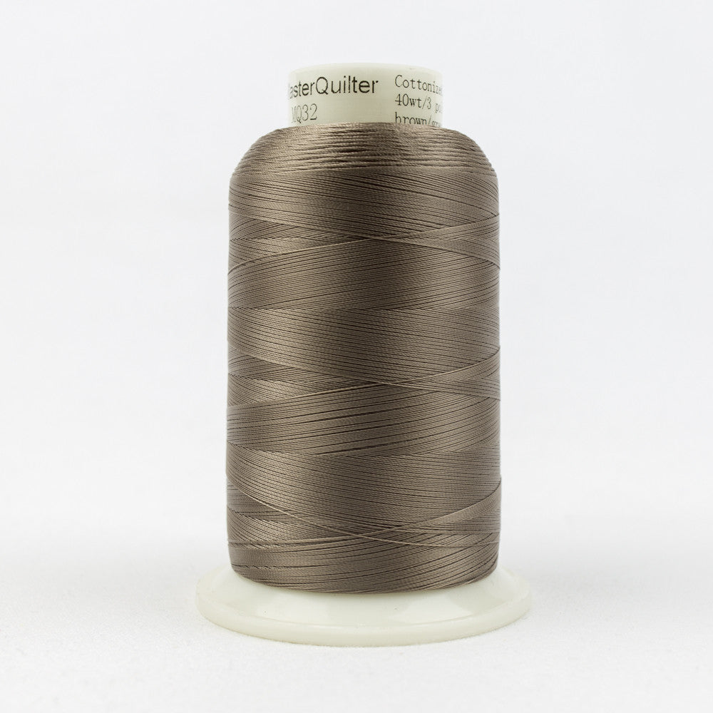 MQ32 - 40wt All Purpose Brown Grey Thread - wonderfil-online-uk