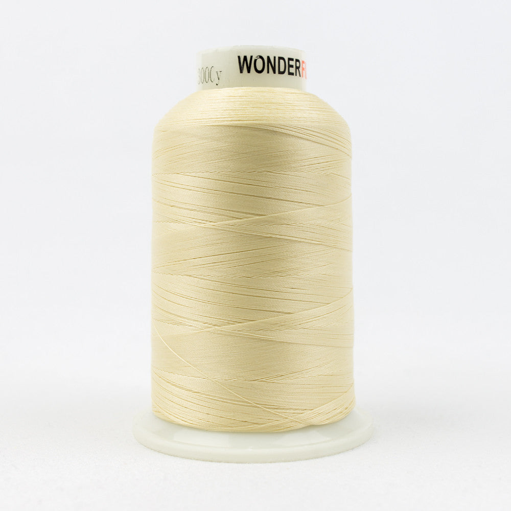 MQ57 - 40wt All Purpose Polyester Cream Thread - wonderfil-online-uk