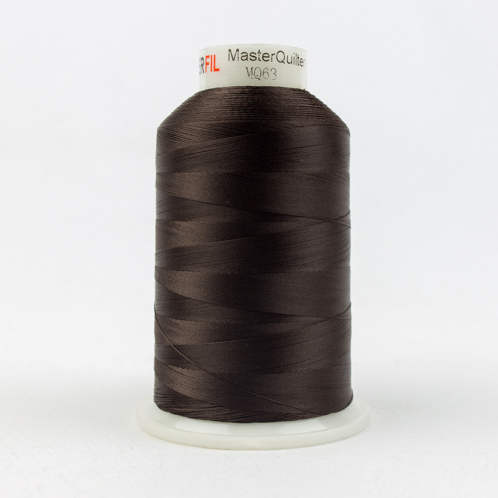 MQ63 - 40wt All Purpose Polyester Chestnut Thread - wonderfil-online-uk