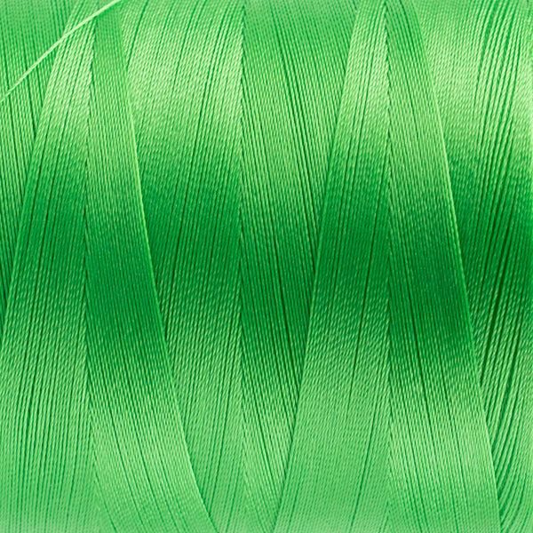 MQ66 - 40wt All Purpose Polyester Lime Green Thread - wonderfil-online-uk