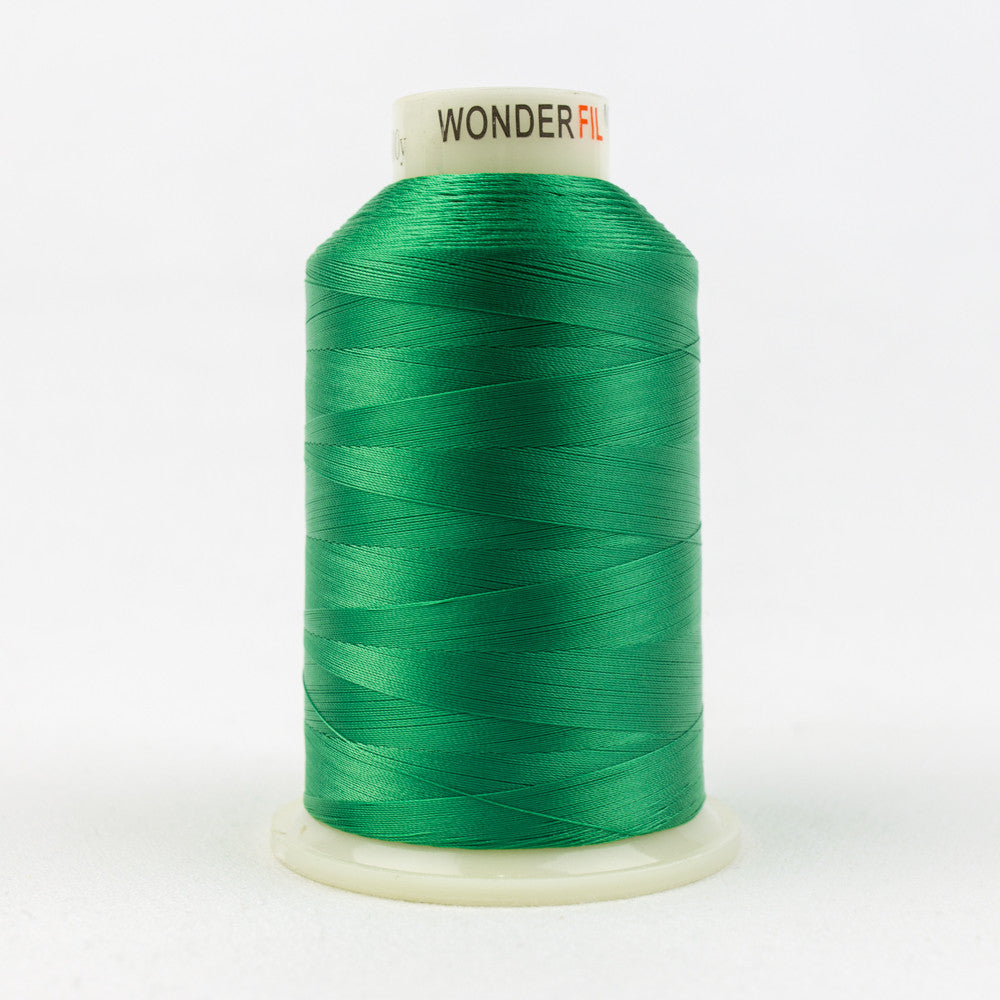 MQ67 - 40wt All Purpose Polyester Emerald Green Thread - wonderfil-online-uk